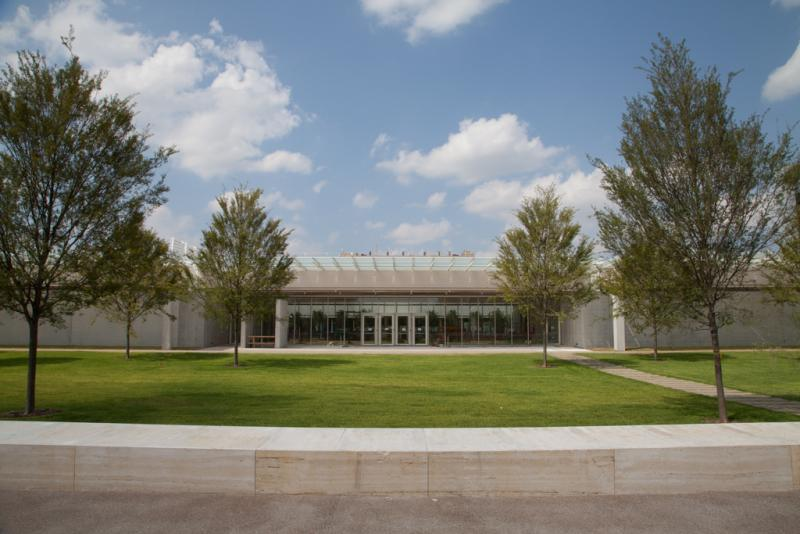 Take a look at the Kimbell Museum's new Piano Pavilion in Fort Worth.