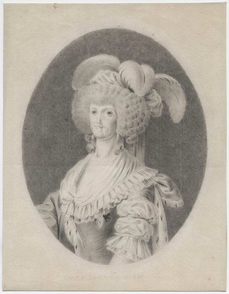 "Antonio Carnicero, ""María Luisa of Parma, Queen of Spain"" (1789)"