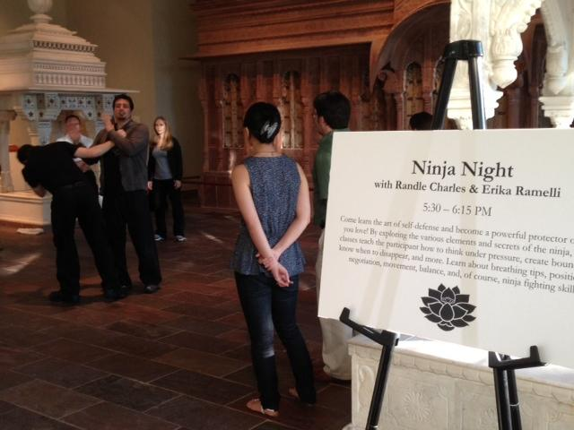 Ninja Night is free and will continue all fall. Class is every Tuesday at 5:30 p.m.
