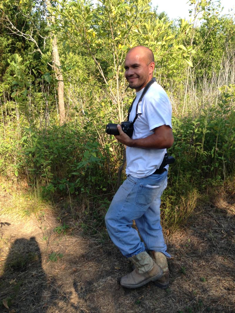 Osvaldo Rojas with City Trapping was hired by the city of Dallas to trap feral hogs, which have been tearing up the land.