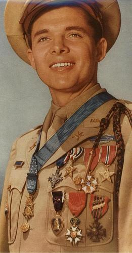 Gov. Rick Perry will posthumously honor World War II hero Audie Murphy, one of the most decorated soldiers in U.S. history.