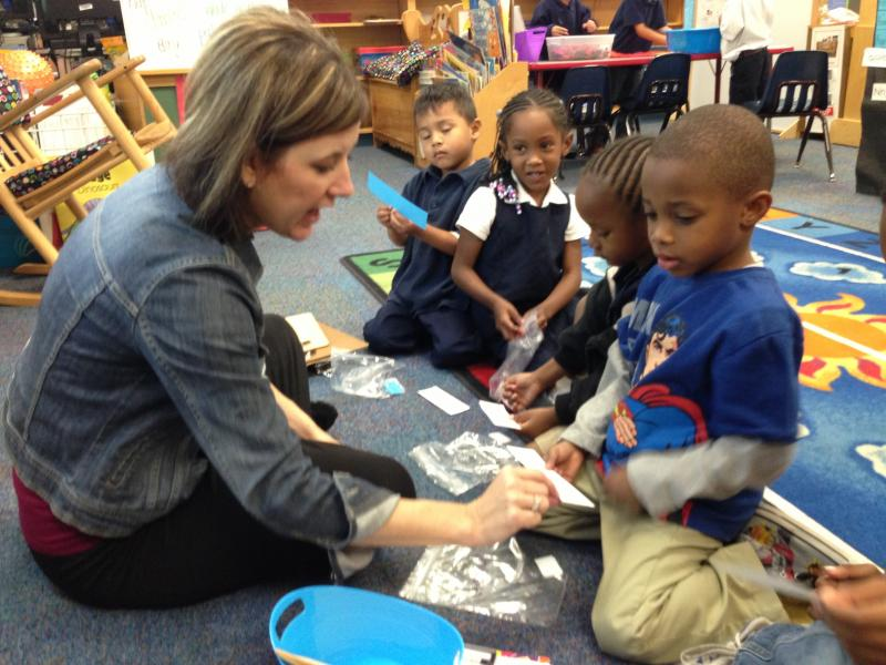 New bond money will be used for classrooms to accomodate more pre-kindergarten students.
