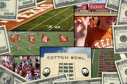 Who will win this weekend's Texas-OU game at the State Fair of Texas? Several Texas legislators will certainly cash in.