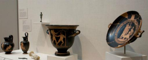A set of art objects from a 5th-century B.C. burial site in Spina, Italy, which have never previously been displayed or loaned, will go on view at the Dallas Museum of Art starting Friday.