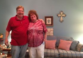 Bob and Amy Flood of Allen used to buy health insurance through the Texas Health Insurance Pool because of pre-existing conditions, but now are able to buy plans on the health insurance marketplace.