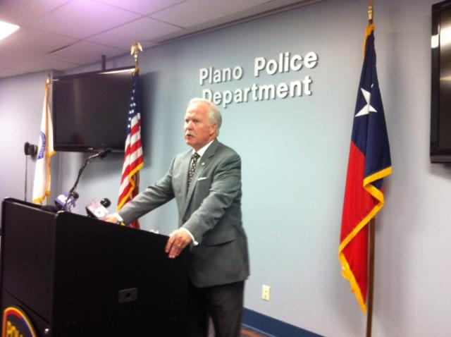 John Bales, the U.S. attorney for the Eastern District of Texas,  addressed the media Wednesday.