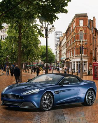Hmm -- what to get for the holidays? How about a Neiman Marcus 2014 Aston Martin Vanquish Volante? It's $344,500.