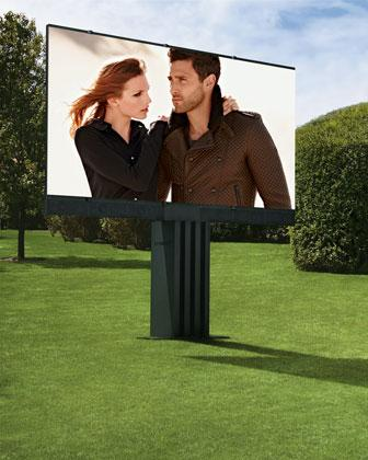 An outdoor entertainment system with a 201-inch TV. It'll cost you a cool $1.5 million.