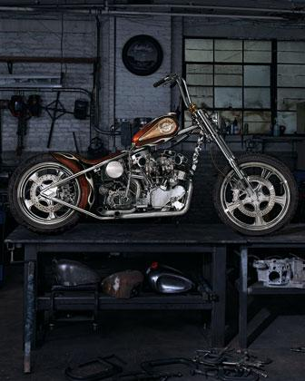 "Vroom, vroom. Cha-ching. Indian Larry's ""Wild Child"" Motorcycle is $750,000"