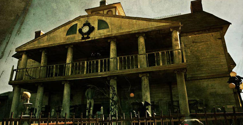 What a beautiful home at Thrillvania. Come in -- if you dare!
