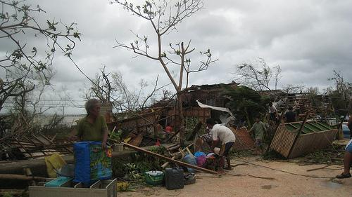 Typhoon Haiyan swept across the Philippines -- and relief groups are now trying to help the victims.
