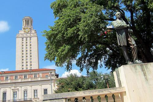 The Main Building at the University of Texas at Austin.