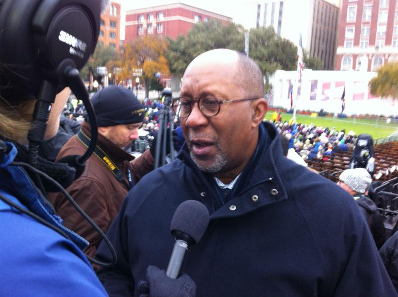 "Ron Kirk, the former Dallas mayor, told KERA: ""It's a day that is etched in the memory of America and the world."""