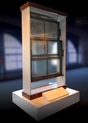 A window from the sixth floor of the Texas School Book Depository was up for auction, too.