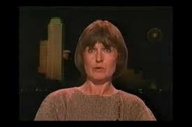 Marina Oswald during an interview in the late '80s. She has rarely given interviews.