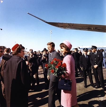 President and Jackie Kennedy arrived at Dallas Love Field on Nov. 22, 1963.