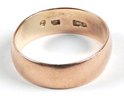Oswald's gold wedding band sold for $108,000.
