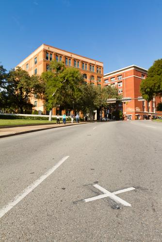 The 'X' is back at Dealey Plaza.