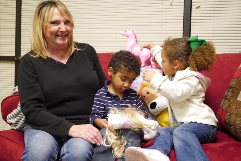 Dawna has fostered 10 Tarrant County kids over the years.