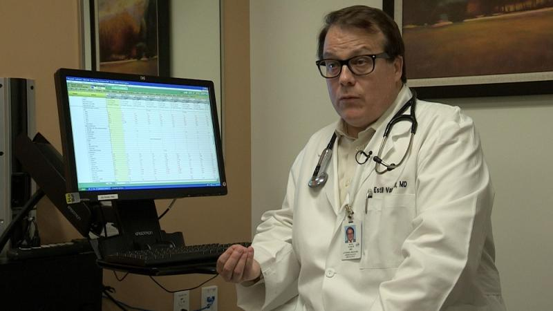 Dr. Estil Vance with Texas Oncology is one of Isac's many doctors.