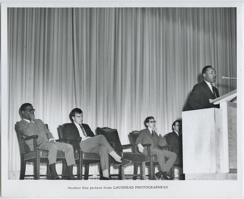 Martin Luther King, Jr. spoke at SMU in 1966.