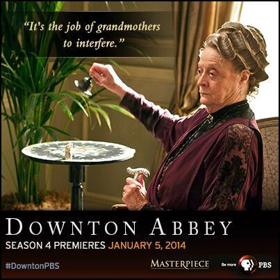 One of the better lines from Sunday night's show -- it came from the Dowager Countess. Of course.