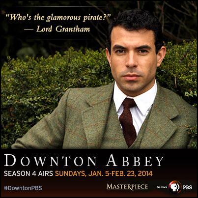 Lady Mary is starting to move on following Matthew's death – the first potential male suitor visited Downton Abbey.
