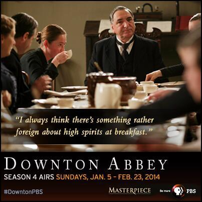 "Carson opens up to Mrs. Hughes in Season 4, Episode 3 of ""Downton Abbey."""