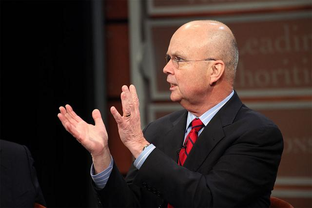 Gen. Michael Hayden, former head of the National Security Agency and the CIA, speaks Tuesday in Dallas.