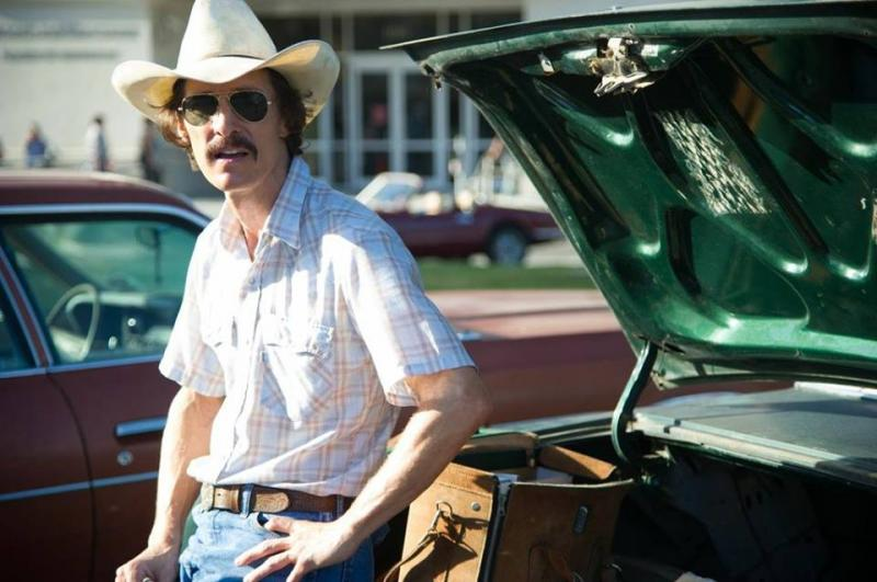 "Matthew McConaughey earned an Oscar nomination for actor in a leading role for his portrayal of Ron Woodroof in ""Dallas Buyers Club."""