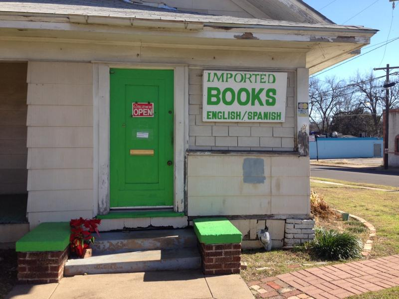 Imported Books, located at 2025 W. Clarendon Drive in Oak Cliff, was once the only place you could buy books in dozens of languages in Dallas.