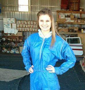 Makenzie Wethington of Joshua plummeted more than 3,000 feet to the ground in a skydiving accident in Oklahoma.