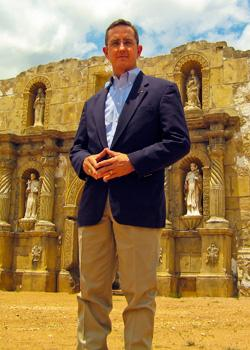 Lt. Gov. Candidate Jerry Patterson has a video spot recalling the Tejanos who fought at the Alamo.  It's part of an effort to reach Hispanic voters.