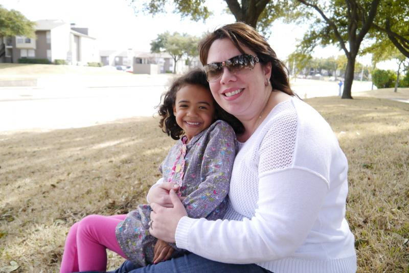 Reagan Melton said she and her daughter Cambre counted more than 60 firetrucks passing on Greenville Avenue in Dallas.