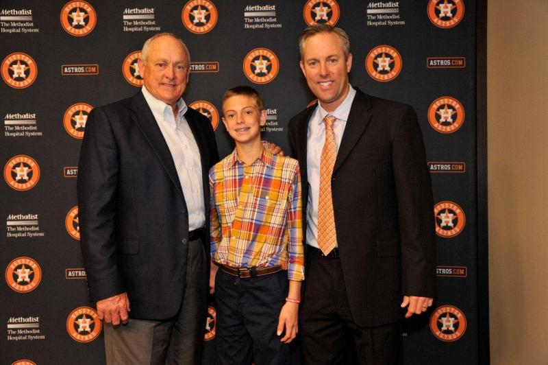 Nolan Ryan (left) will join the Astros as an adviser to club owner Jim Crane (right).