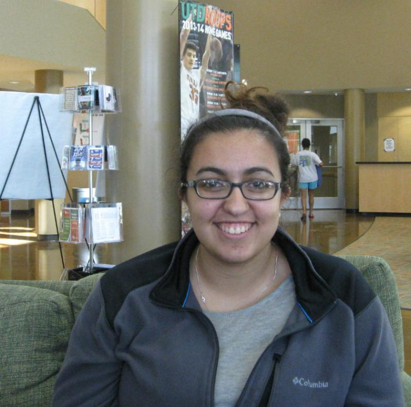 Sarah Aleisa, a freshman at the University of Texas at Dallas, says the locked-in tuition helped her and her family plan out her college budget without any surprises.