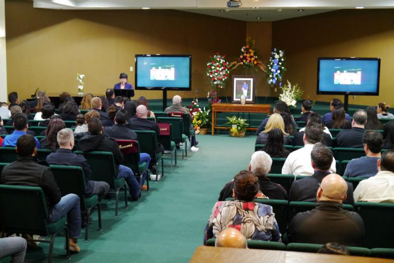 Isac's service in Rockwall was attended by friends and loved ones on Monday, Feb. 24.