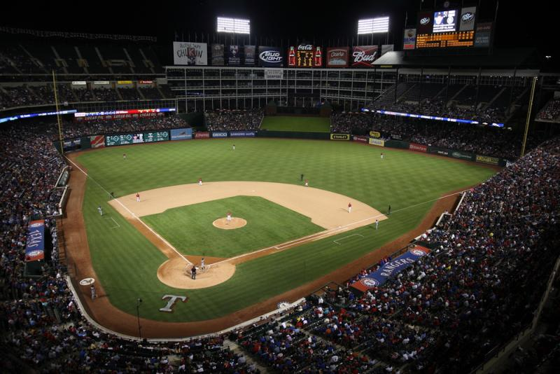 What's in a name? Rangers Ballpark will get a new name today.