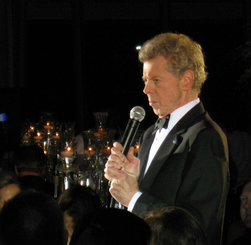 Van Cliburn at a gala fundraiser in Fort Worth. He died last year.