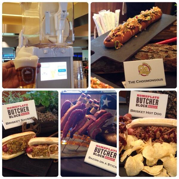 Here are some of the new gut-busters that will be served up at Globe Life Park in Arlington this spring.