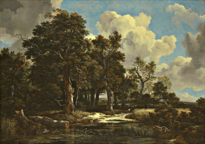 The Kimbell Art Museum has acquired Jacob van Ruisdael's Edge of a Forest with a Grainfield.