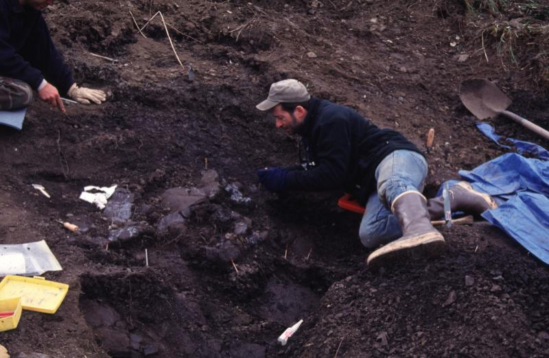 Paleontologist Tony Fiorillo on Alaska's North Slope where Nanuqsaurus hoglundi was discovered