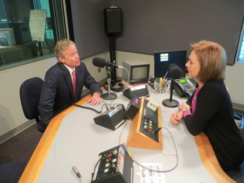 Don Huffines, the Republican Texas Senate nominee, talked with KERA's Shelley Kofler about his legislative priorities.