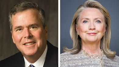 Jeb Bush and Hillary Rodham Clinton are among the speakers at the Globalization of Higher Education conference today in Irving.