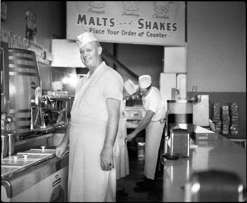 Big Ernie in 1954.