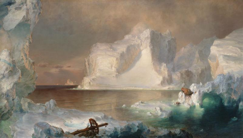 One of the Dallas Museum of Art's nominees for 'Art Everywhere:' Frederic Edwin Church, 'The Icebergs,' 1861