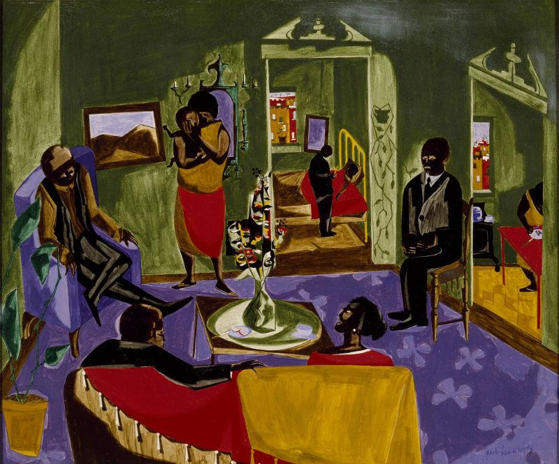 Jacob Lawrence, 'The Visitors,' 1959
