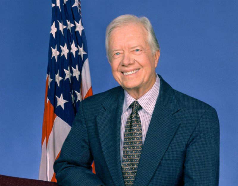 "Former President Jimmy Carter has a new book out, called ""Call To Action: Women, Religion, Violence, and Power."""