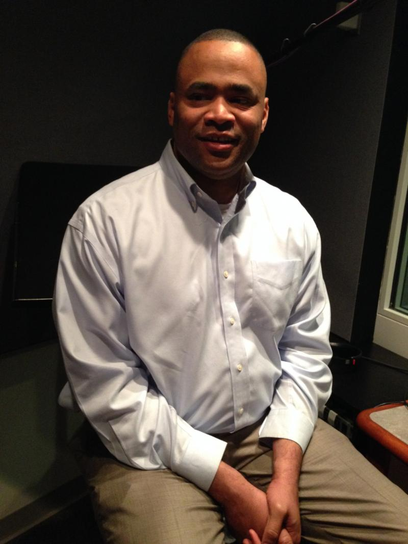 At KERA studios, U.S. Rep. Marc Veasey outlines options for containing Russia.