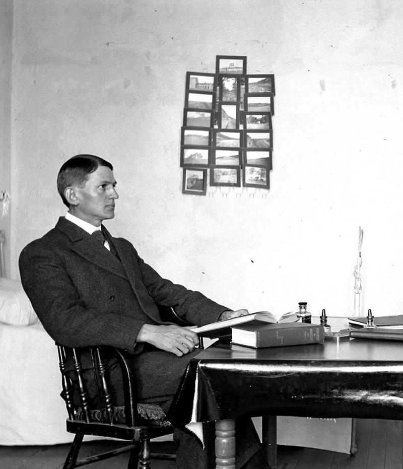 At the University of Texas at Austin, 1905.